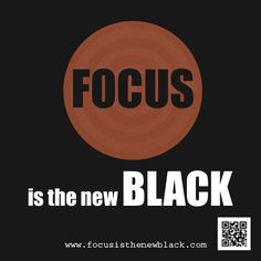 Focus is the New Black #fashion #beauty #hair #makeup #nails #Oscars #AcademyAwards #FocusFriday #PYPSummit Get to the top via PYPSummit.com April 18-20 - A one time annual event - get there!