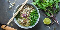Vegan Vietnamese Pho via @iquitsugar