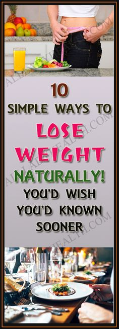 Natural Remedies To Lose Weight 10 Simple Ways To Lose Weight Naturally You'd Wish You'd Known Sooner Healthy Detox, Healthy Tips, Lose Weight Naturally, How To Lose Weight Fast, Fitness Inspiration, Health And Wellness, Health Fitness, Mental Health, Fitness Motivation