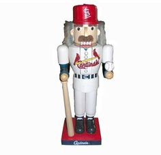 Kurt Adler St. Louis Cardinals Baseball Player Nutcracker