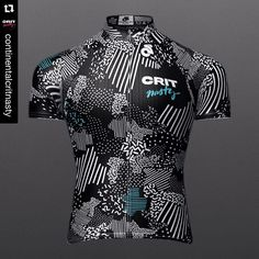 It appears that @continentalcritnasty is adhering to the rule of ... Well no rules I guess. ・・・ Drum roll pleeeeease.....! Here it is! Crit Nasty's 2016 race kit! And we couldn't be more in lovewhat do you think?! This beautiful kit is designed by the one and only @jonathandwood - I think talent must be his middle name... But don't think we have stopped here....we have a few more trick up our sleeves! #jersey #cycling #kit #awesome #critnasty #design #fashion #bike #3d #sofly #wtfkits