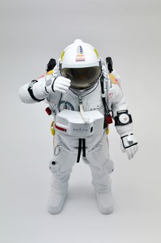 Redbull stratos figurine by Coolrain Lee