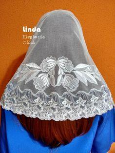 465477bea Linda Elegância Véus CCB - Linda Elegância Modas. Confecção de Moda  Evangélica