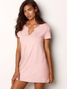 Victoria s Secret V-neck Sleepshirt Sleep Dress 1be4dfad3