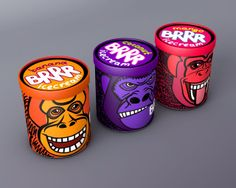BRRR Ice Cream (Student Project) on Packaging of the World - Creative Package Design Gallery