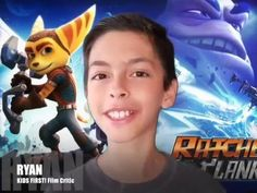 Film Review: Ratchet & Clank by KIDS FIRST! Film Critic Ryan R. #RatchetandClank