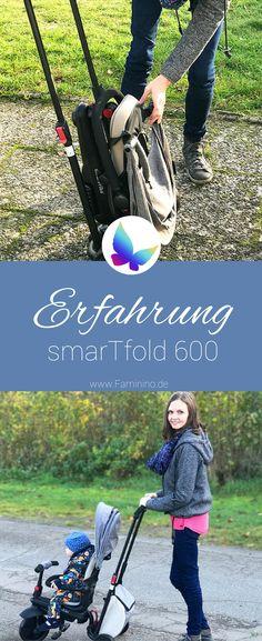Das smarTfold 600: Unsere Erfahrung mit dem smarTrike #baby #dreirad