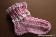 villasukkia, tumppuja, neulominen, käsityö
