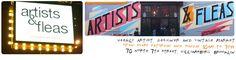 Artists & Fleas - cute, small, flea market of original artists.