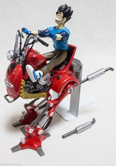 JUNK ITEM : Dragon Ball Z Riding Figure & Mecha RED Goku Gokou Banpresto JAPAN