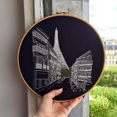 "1,019 Likes, 59 Comments - Elin Petronella (@petronella.art) on Instagram: ""Rue de Monttessuy is now up and ready in the shop (Link in bio) I hope you have all had a…"""