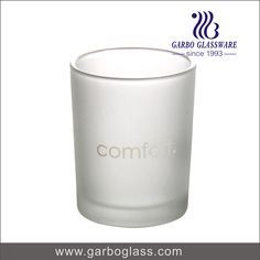 Frosting pressed machine made glass tumbler with high quality