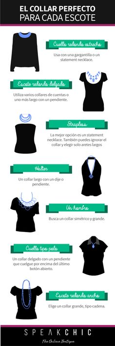 El collar perfecto para cada escote | SPEAK CHIC | Accesorios de Marca…