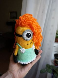Minion girl amigurumi - FREE PATTERN