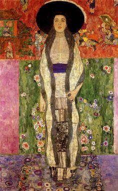 """villa-rosie: """" Adele Bloch-Bauer II, Gustav Klimt """""""