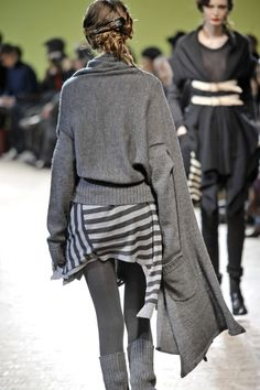 Limi Feu -   Fall / Winter 2009...that sweater