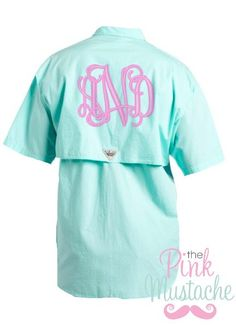 Columbia Brand PNG Monogrammed Swim Cover Up / Monogrammed Columbia Fishing Shirt on Etsy, $49.00