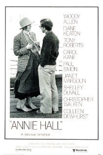 """""""Annie Hall"""" (dir. Woody Allen, 1977) --- Neurotic New York comedian Alvy Singer (Woody Allen) falls in love with the ditsy Annie Hall (Diane Keaton)."""