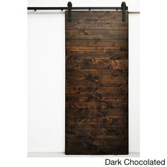 The Latitude barn door demonstrates simple modern design. The horizontal direction of the solid wood boards creates elegant visual flow and applies well in nearly any setting. All Dogberry barn doors                                                                                                                                                                                  More