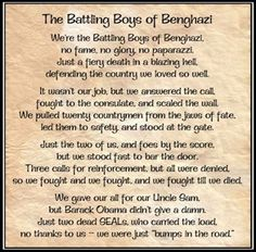 The Battling Boys of Benghazi | FrontPage Magazine   Remembering them this Memorial Day...  We won't forget your service!!  And we won't forget Obama and Clinton, who did this to you.