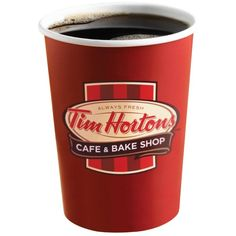 Tim Hortons Images Logos ❤ liked on Polyvore featuring food, drinks, fillers, food and drink and coffee
