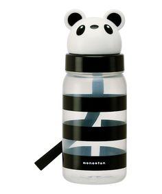 Black & White Panda 11.8-Oz. Water Bottle