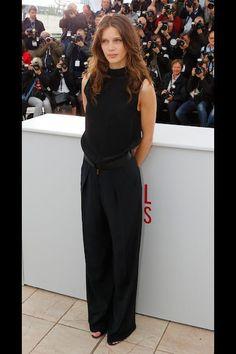 Marine Vacth sobria pero elegante en el Festival de Cannes 2013