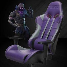 PC Gaming Chair Purple/ Black/Gray - Fortnite