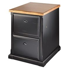 kathy ireland Home by Martin Southampton 2-Drawer File Cabinet - Fully Assembled