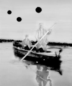 Uwe Wittwer (Swiss, b. 1954), Boat, 2008. Inkjet, 150 × 180 cm.