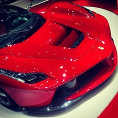Close up! Ferrari