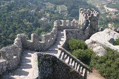 Moorish Castle, Sintra, Portugal