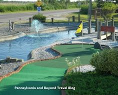 Harbor Light Mini Golf Course in Wildwood Crest New Jersey is a beautifully landscaped 18 hold miniature golf course. Located in Wildwood Crest (South end of the island) with a connected ice cream parlor.