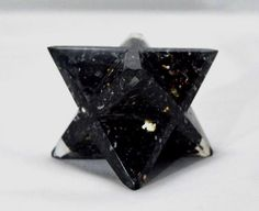 Extra Large 75MM Orgonite (Orgone) Black Tourmaline Stone Chips Carving Healing Power Reiki Aura Merkaba Star by MagicCrystalCart on Etsy