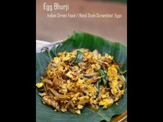 Simple and Yummy Recipes: Indian Street Food style Scrambled Eggs | Muttai Poriyal | Anda Bhurji | How to make Egg Bhurji