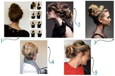 5 Simple Updos for Everyday Hair