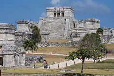 Tulum in the Yucatan peninsula of Mexico.  I've visited this already twice. Just a little south of Playa del Carmen.