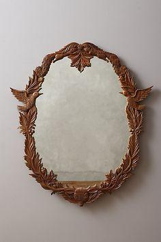 Anthropologie Handcarved Menagerie Mirror #anthrofav
