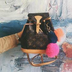Pre-Owned Louis Vuitton Mini Montsouris Backpack: On the Shoulder Louis Vuitton Neverfull, Mochila Louis Vuitton, Louis Vuitton Rucksack, Louis Vuitton Wallet, Vuitton Bag, Louis Vuitton Handbags, Coach Handbags, Louis Vuitton Monogram, Burberry Handbags