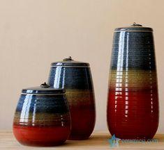 #Colorful glaze #series of porcelain jars.#jars#ceramicjar#potteryjar#decoration#housedesign#treasure#decorate#interior#stylish#style#designer