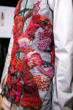 Backstage at Maison Martin Margiela's Autumn-Winter 2013 women's fashion show © Audoin Desforges