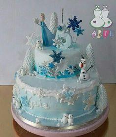 Queen elsa brescia italy cake disney www for Piani di costruzione di due piani per uffici