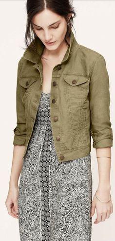linen denim jacket