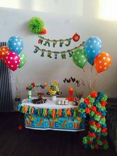 Mia nam je poslala sliku s 1. rođendana svoje bebe i pokazala nam kako je predivno iskombinirala naše proizvode :)