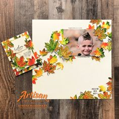 Artisan Design Team Blog Hop October 2019 - Gather Together Bundle - Scrapbook Page and Card Created by Stesha Bloodhart, Stampin Hoot!