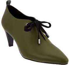 e5a6d6a0135 LOGO by Lori Goldstein Ankle Booties withTie Shoe Dazzle