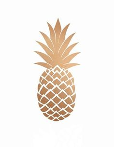Gold Pineapple Print Printable Art Gold by PaperStormPrints Gold Pineapple Wallpaper, Cute Wallpapers, Wallpaper Backgrounds, Iphone Wallpapers, Gold Wallpaper, Whatsapp Pink, Printable Art, Free Printables, Gallery Wall