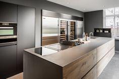 Deze is mooi Van Boven - Keuken Met Hout - Hoog ■ Exclusieve woon- en tuin inspiratie. http://amzn.to/2saX2w8