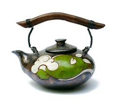 Ceramic Teapot Flowers, Pottery Tea Pot, Unique Tea Pot, Tea Kattle, Pottery Tea Kattle, Tea Pot, Tea Pot Handpainted, Tea Pot Clay, Tea Set by MMceramicdesign on Etsy https://www.etsy.com/listing/236813241/ceramic-teapot-flowers-pottery-tea-pot