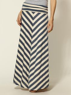 Piperlime chevron maxi skirt. Or this one